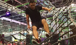 Just Play: Ninja Warrior Course or Trampoline Park Access with Just Play at Dubai Sports World
