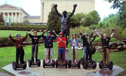 Segway Tour from Philly By Segway (Up to 53% Off). Six Options Available.