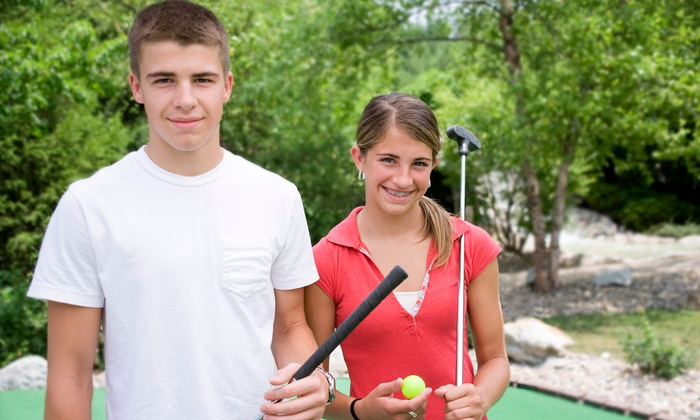 Westerville Mini Golf - Westerville Golf Center: $13 for Four Rounds of Mini Golf and Six Batting-Cage Tokens at Westerville Mini Golf ($29  Value)