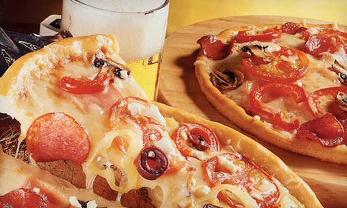 Mitchell's Tap - Bridgeport: Pizza and Draft Beer at Mitchell's Tap (Up to 59% Off). Two Options Available.