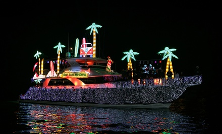 Boat Parade of Lights or Holiday Light Cruise with Optional Drink at Davey's Locker Cruises (Up to 53% Off)