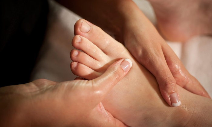 Healthy Steps - Webster: A Reflexology Session at Healthy Steps (45% Off)