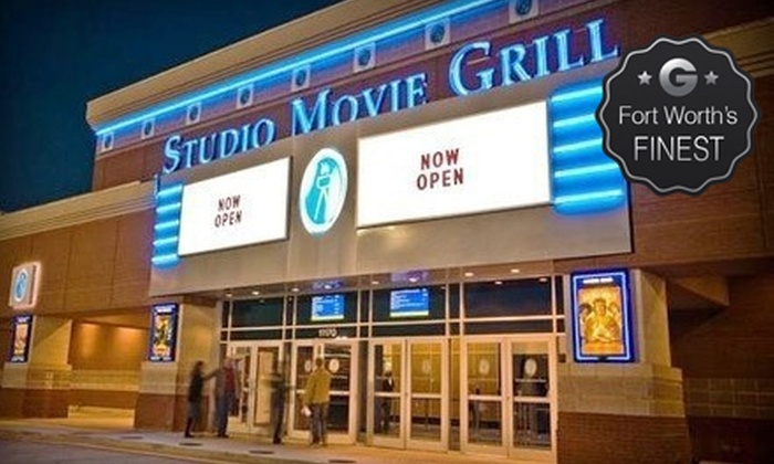 Studio Movie Grill - Multiple Locations: $5 for a Movie and Soda at Studio Movie Grill (Up to $12.74 Value). Five Locations Available.