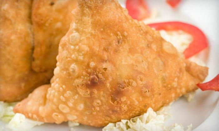 Bismillah Cafe - Westside: Indian Meal for Two or $10 for $20 Worth of Indian Fare at Bismillah Cafe