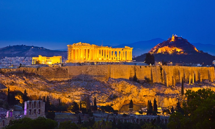 8-Day Mediterranean Vacation with Airfare - Rome and Athens: 8-Day Athens and Istanbul Vacation with Airfare, Hotels, Some Tours, and Daily Breakfast from Key Tours International