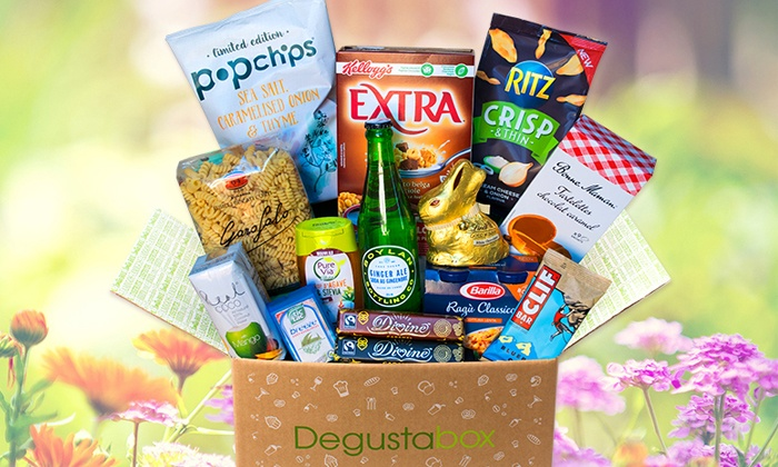 Degustabox: $9.99 for First Month Surprise Food Delivery from Degustabox ($19.99 Value)