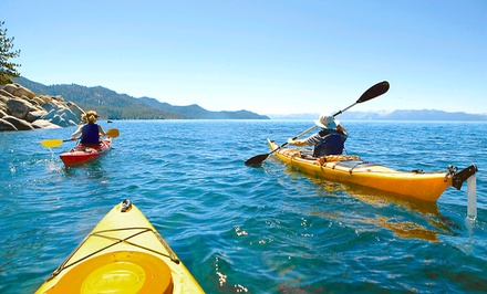 Full-Day Single or Tandem Kayak Rental from Lake Blue Ridge Outfitters (Up to 54% Off)