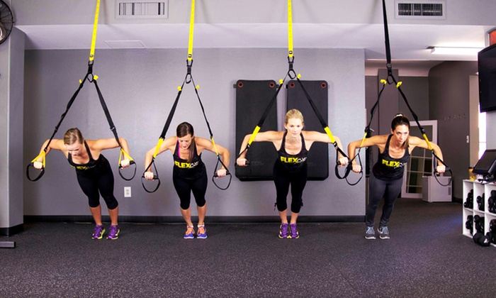 FLEXcity Fitness - Multiple Locations: 10 or 20 Fitness Classes at FLEXcity Fitness (Up to 63% Off). Two Locations Available.
