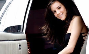 Rush Hour Limo LLC.: $20 for One-Way Airport Transportation from Rush Hour Limo LLC. ($30 Value)