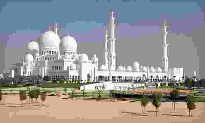 8-day Tour of Dubai and Abu Dhabi with Airfare: 8-day Tour of Dubai and Abu Dhabi with Airfare, 4-Star Accommodations, and Sightseeing from Gate 1 Travel