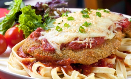 Italian Meal for Two, Four, or Six at Michelangelo Ristorante & Caffe (Up to 48% Off)