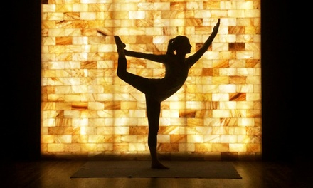 4-Pack of Salt Yoga or Salt Therapy Sessions at Ariasalt Salt (Up to 59% Off)