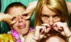 City Lights Photo Booth - Los Angeles: Four-Hour Photobooth Rental from City Lights Photobooth (Up to 50% Off). Three Options Available.