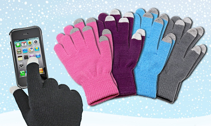 Aduro Touchscreen Gloves: One or Two Pairs of Aduro Touchscreen Gloves (Up to 75% Off). Multiple Colors Available. Free Returns.