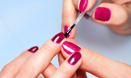 Two Classic or Gelish Manicures with Spa Pedicures at CiCi Nails & Spa (Up to 53% Off)