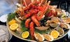 Oceana Restaurant at Hilton Capital Grand Hotel - Abu Dhabi: All-You-Can Eat BBQ, Seafood, Sushi Buffet with House Beverages at 5* Hilton Capital Grand Hotel (Up to 61% Off)