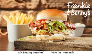 Frankie & Benny's: Two-Course Meal for Two