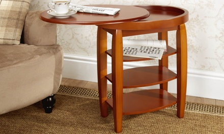 Swivel Top Table in Choice of Style With Free Delivery