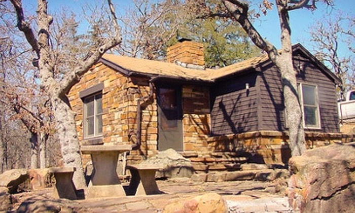 Osage Hills State Park - Pawhuska: $35 for a One-Night Cabin Stay for Four at Osage Hills State Park ($70 Value)