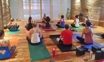 Six Classes or One-Month of Unlimited Classes at The Yoga Hive in the Strip District(48% Off)