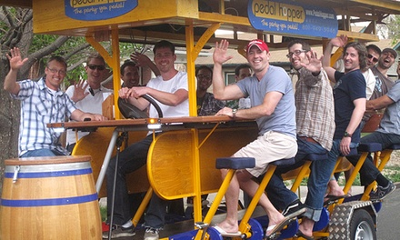 Two-Hour Party Bike Rides for Up to 16 Passengers from Pedal Hopper (50% Off). Two Options Available.