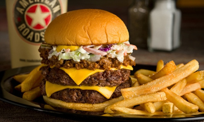 American Roadside - Barclay Downs: $6 for $12 Worth of American Fare and Drinks at American Roadside