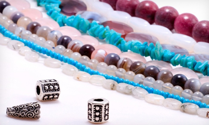 TiaMarie Beading Studio - Montclair: Mommy and Me Jewelry-Making Class or Ladies' Night Party for Two or Four at TiaMarie Beading Studio (Up to 62% Off)