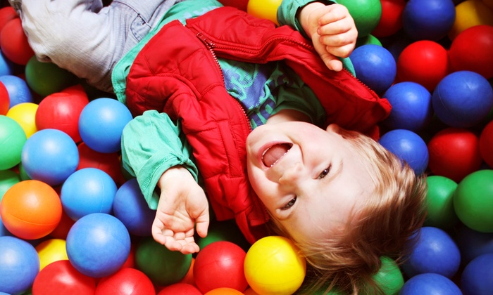 My Kids Clubhouse - Multiple Locations: Five Open-Play Visits or One Week of Half-Day Camp at My Kids Clubhouse (Up to 51% Off)