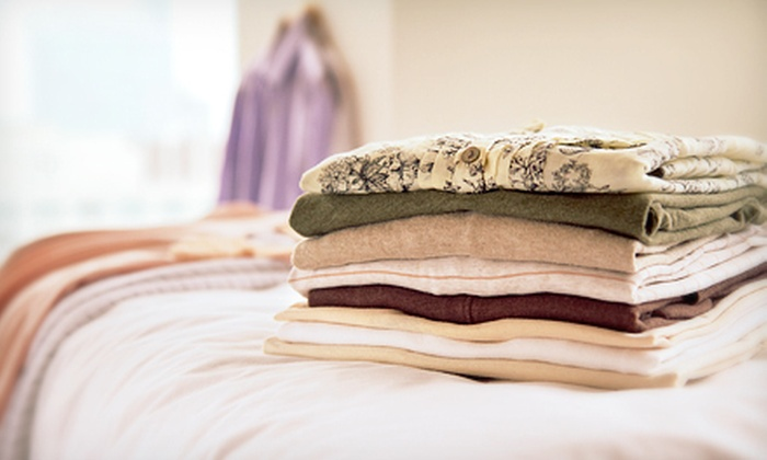 Executive Cleaners - Multiple Locations: Dry Cleaning from Executive Cleaners (Half Off). Five Options Available.