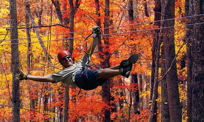 Blue Ridge Canopy Adventures - Blue Ridge: $45 for a Zipline Canopy Tour at Blue Ridge Canopy Adventures ($79.95 Value)