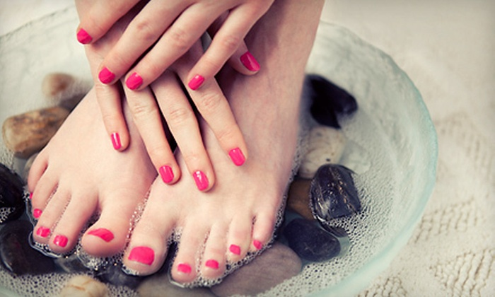 Young Image Spa - Castro Valley: One or Three Shellac Manicures and Regular Pedicures at Young Image Spa (Up to 55% Off)