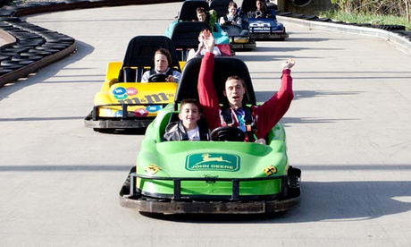 Six Attractions or an All-Day Unlimited Visit at Mel's Funway Park (Up to 50% Of...