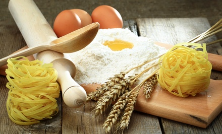 Pasta-Making Class with Wine and Food Tasting for One, Two, or Four at Eat Local (Up to 65% Off)