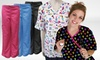 Missy- and Plus-Sized Scrub Tops and Bottoms: Missy- and Plus-Sized Scrub Tops and Bottoms. Multiple Styles Available. Free Returns.