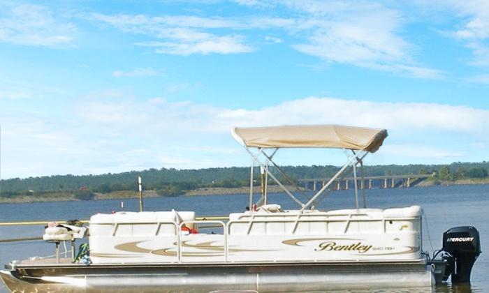 Jordan Lake Tours - Moncure: $149 for Two-Hour Boat Tour for Up to 10 from Jordan Lake Tours (Up to $335 Value)