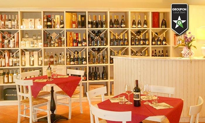 Enoteca La Rosa Blu - Quarrata (PT): Enoteca La Rosa Blu - Cena con vini abbinati a ogni portata (sconto fino a 72%)