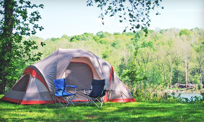 Brunswick Family Campground - Harper's Ferry: Camping Trip for Two or Four with Bike Rentals and Optional Canoeing Trip at Brunswick Family Campground (Up to 54% Off)