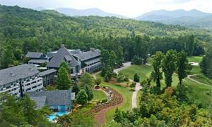 Rustic Retreat in Georgia's Blue Ridge Mountains at Brasstown Valley Resort & Spa, plus 6.0% Cash Back from Ebates.