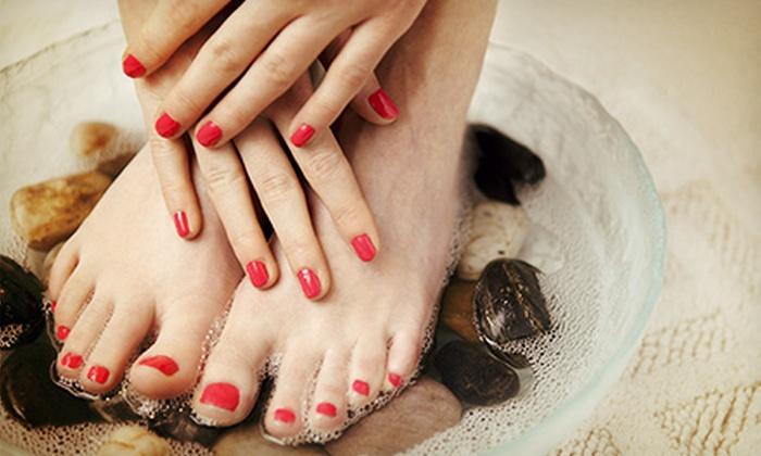 Jennifer Haney at Cartel Inc. - Spokane Valley: Gel Polish for Toes, Gel-Polish Manicure, or Both from Jennifer Haney at Cartel Inc. (Up to 53% Off)