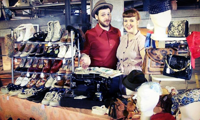 Vintage Garage Chicago - Uptown: Vintage-Fair Outing for Two, Four, or Six at Vintage Garage Chicago (Up to Half Off)