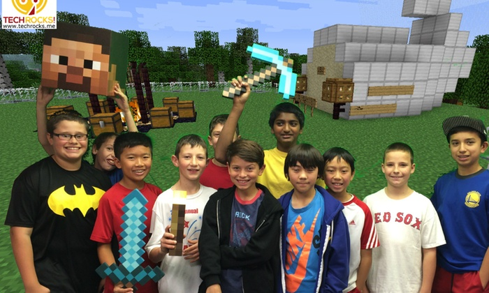 Tech Rocks! - McDougal: $193 for $350 Groupon Toward Minecraft Birthday Party — Tech Rocks