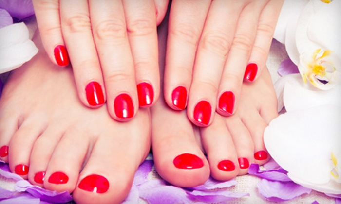 Spelbound the Day Spa - Jackson: One or Two Mani-Pedis at Spelbound The Day Spa (Up to 59% Off)