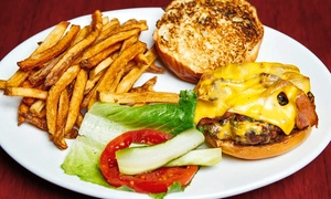 O'Neills: Burger Meal for Two or Four with Appetizers and Beers at O'Neills (Up to 54% Off). Three Options Available.