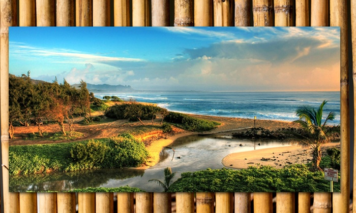 """21""""x10.5"""" Gallery-Wrapped Beach Prints: 21""""x10.5"""" Gallery-Wrapped Beach Prints. Multiple Artworks Available. Free Returns."""