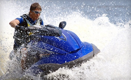 2-Hour Mix-and-Match Watersport Package for 2, Including 20-Minutes of Jet-Ski Use - Adventure World in Sunny Isles Beach