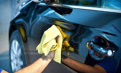 image for Mini Valet and Full Hand Wax Polish or Full Valet at Topgear Carwash (Up to 56% Off)