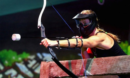 One Hour of Archery Arrow Tag for 2, 4, or Up to 10 People at Brainy Actz (Up to 50% Off)