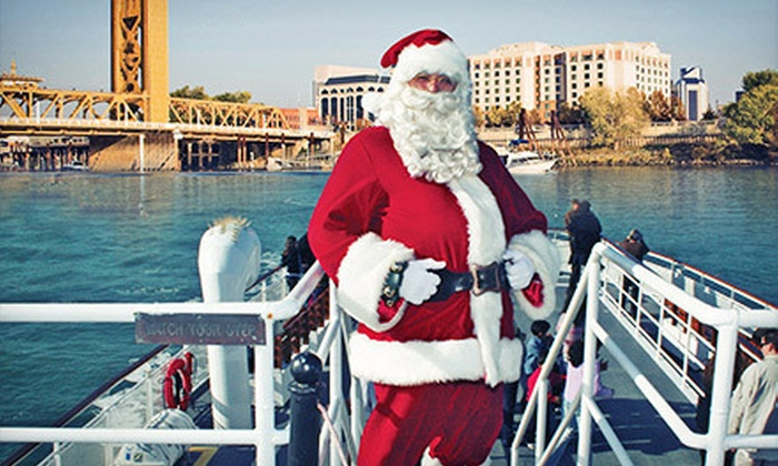 Hornblower Cruises & Events - Downtown Sacramento: Santa Holiday River Cruise for a Child, Adult, or Family of Four from Hornblower Cruises & Events (Up to 40% Off)