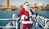 Hornblower Sacramento and San Francisco - Downtown Sacramento: Santa Holiday River Cruise for a Child, Adult, or Family of Four from Hornblower Cruises & Events (Up to 40% Off)