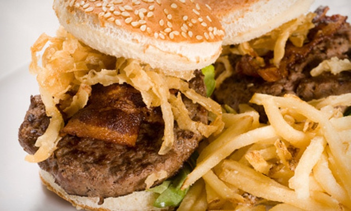 Slider City Food Truck - Los Angeles: Slider Meals with Three Extra Toppings and Fries for One or Two at Slider City Food Truck (Half Off)